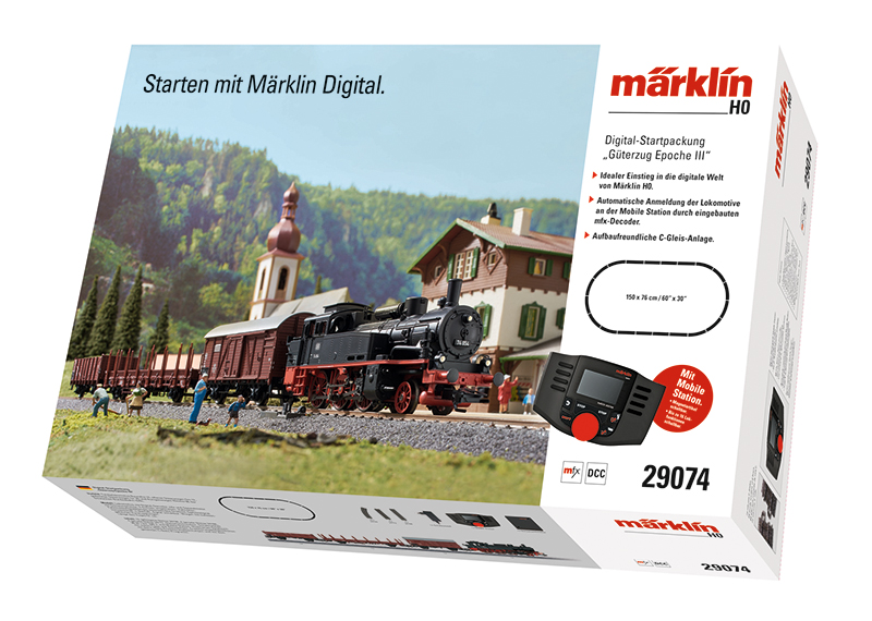 Märklin 29074 Digital-Startpackung Güterzug Epoche III