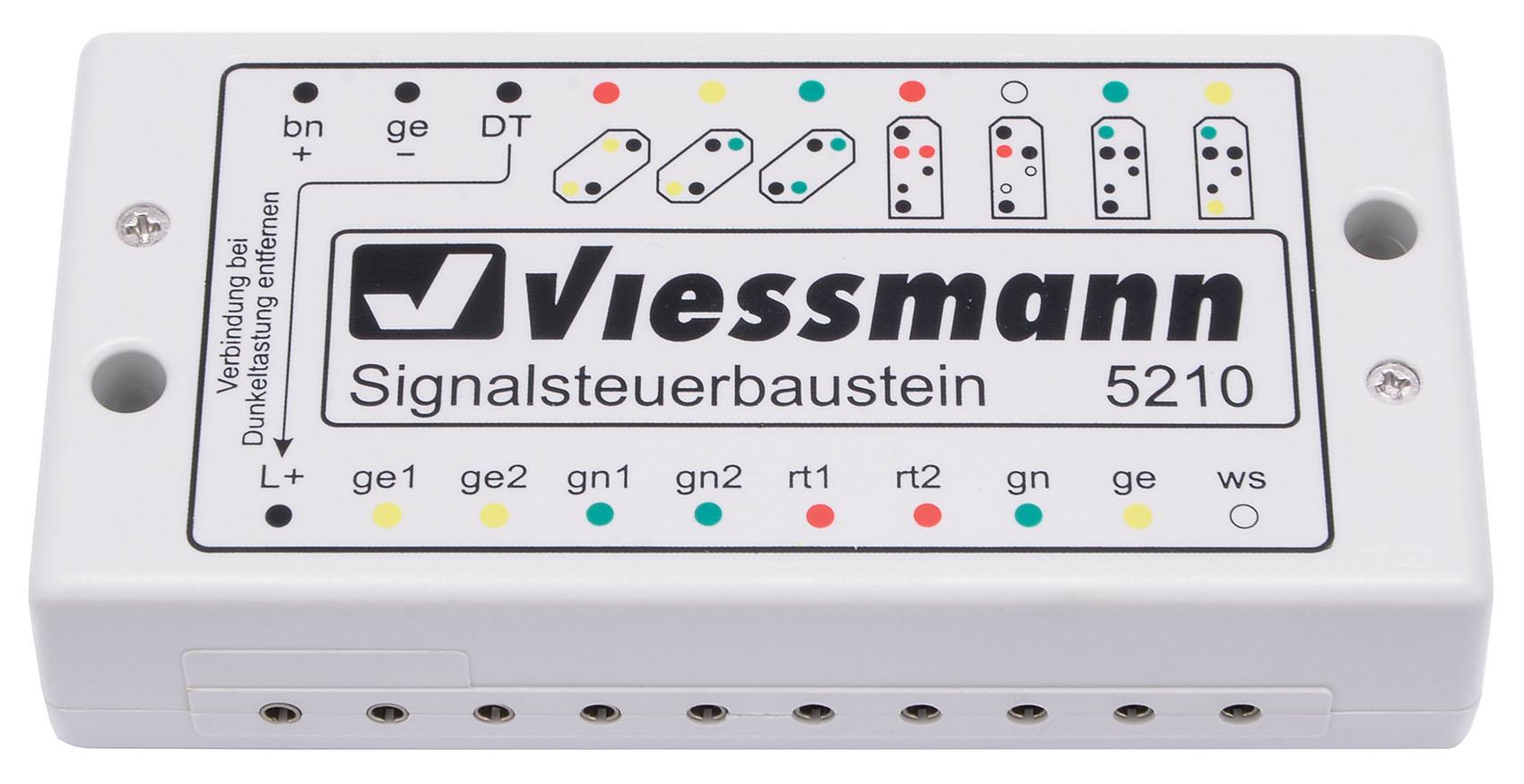 Viessmann 5210 Signalsteuerbaustein für Lichtsignale