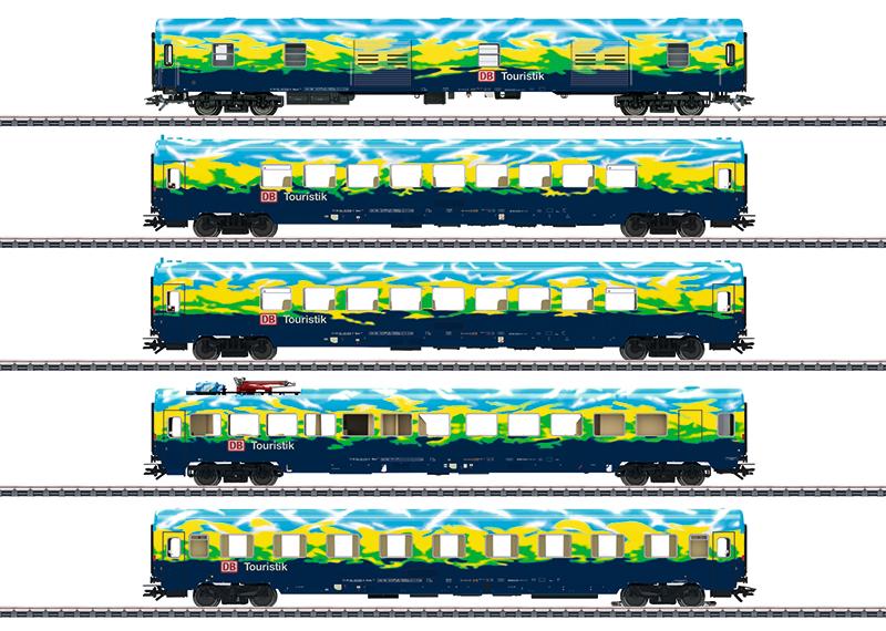 """Märklin 43879 Personenwagen-Set """"Touristikzug"""""""