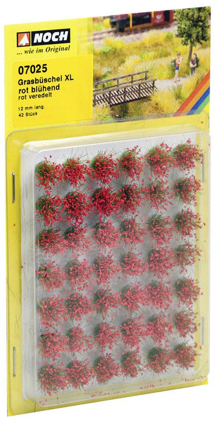 """Noch 07025 Grasbüschel Mini-Set XL """"blühend"""""""