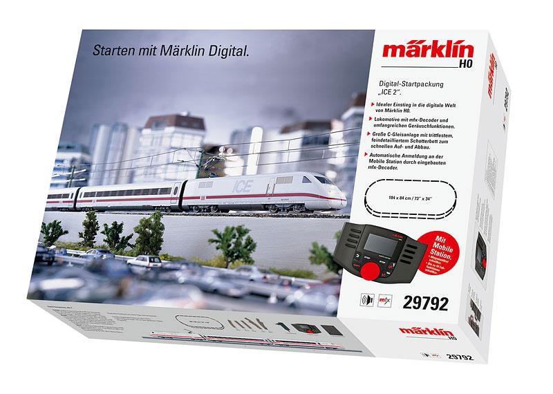 """Märklin 29792 Digital-Startpackung """"ICE 2"""""""