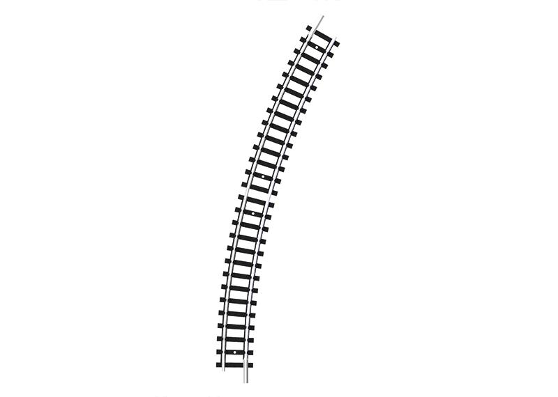 Trix 14920 Gebogenes Gleis