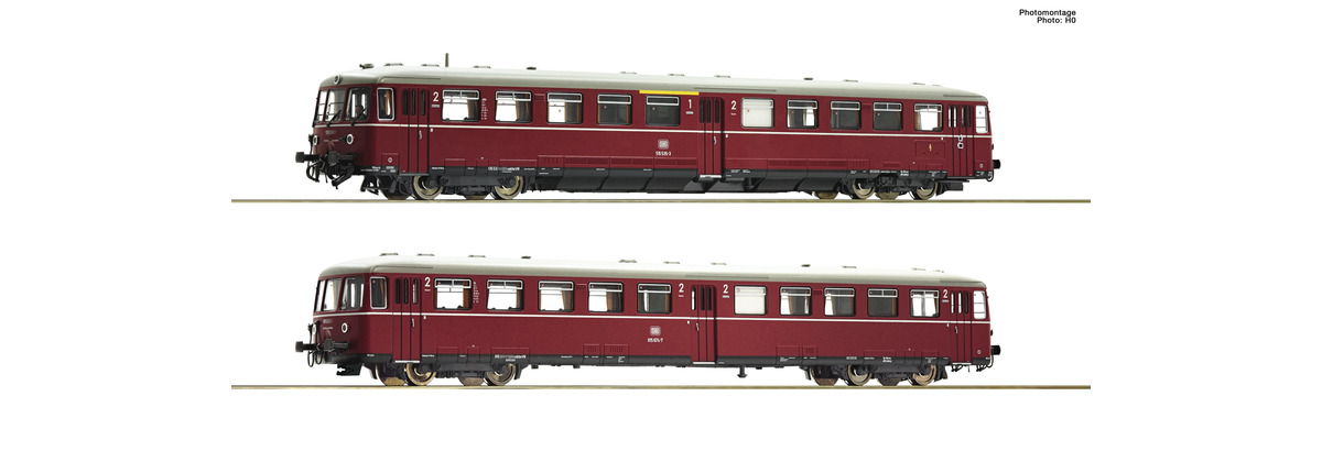 Fleischmann 740170 Akkutriebwagen BR 515 mit Steuerwagen