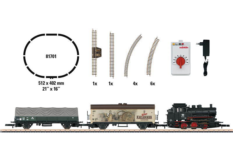 Märklin 81701 Startpackung Güterzug