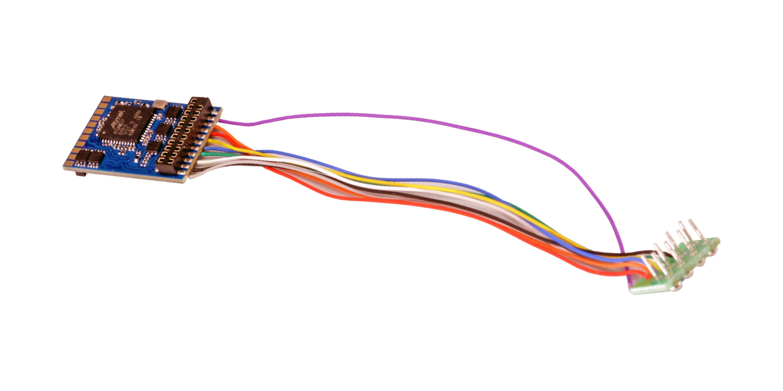 ESU-Elektronik 59610 LokPilot 5 DCC/MM/SX/M4, 8-pin NEM652, Retail, Spurweite H0 ,0