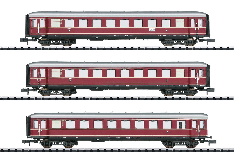 Trix 15405 Wagen-Set Die roten Bamberger Teil 1 Wagen-Set Die roten Bamberger Teil 1
