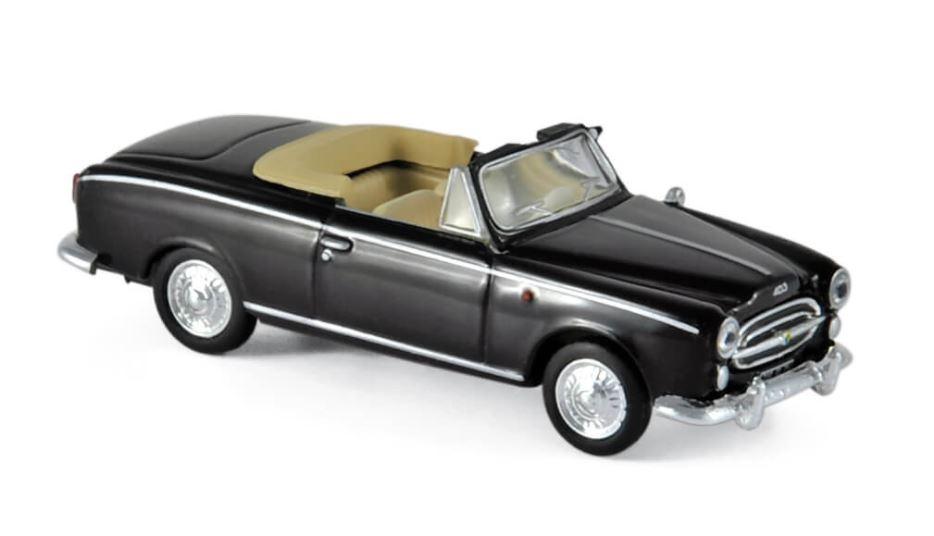 Peugeot 403 Cabrio black