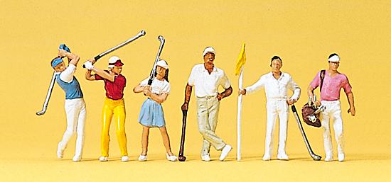 Preiser 10231 Golfspieler
