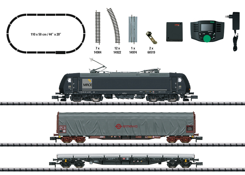 Trix 11147 Digital-Startpackung Güterzug