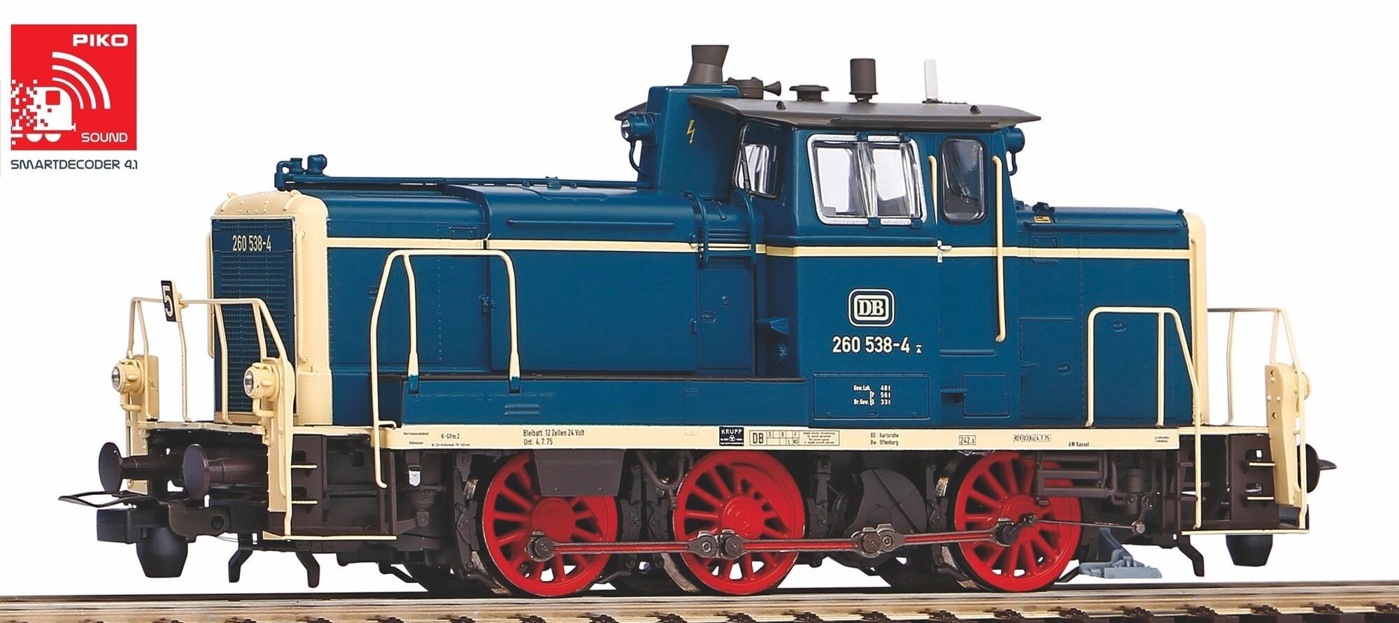 Piko 55900 - BR 260 DB blau