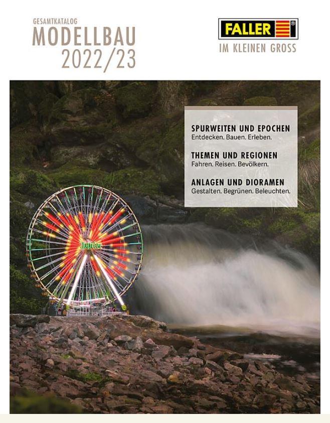 Gebr. Faller 190909 Faller Katalog 2021/2022 mit Preis