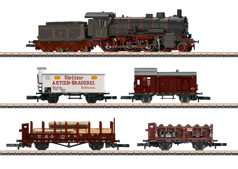 Märklin 81302 Zugpackung Länderbahn Güterzug K.P.E.V.