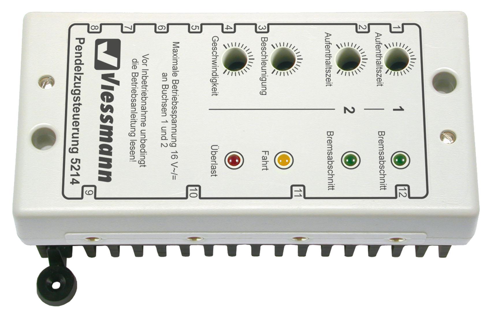 Viessmann 5214 Pendelzugsteuerung für Gleichstrombahnen